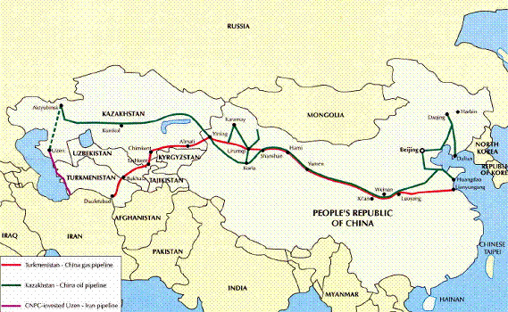 Central Asia–China Gas Pipeline - Landee Flange