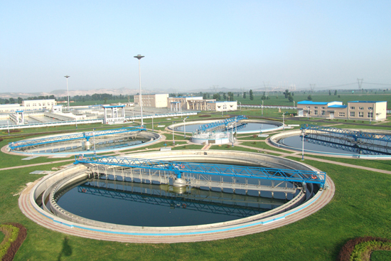 China Western Cowboy City Builds Sewage Treatment Plants - Landee Flange