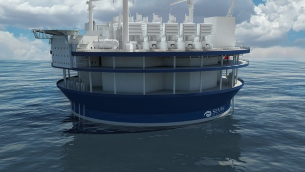Japan to Build A Floating Power Generation Plant - Landee Flange