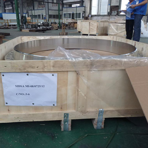 A182 F304 SS Weld Neck Flange, 150LB, 24 Inch