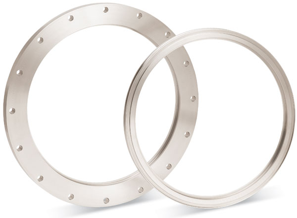 Requirements for large diameter welded flange landee